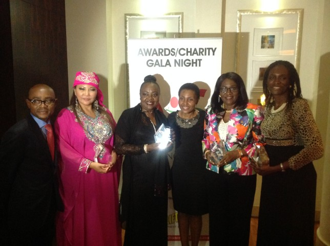 Mrs Omokorede Fasoro with Other Awardees